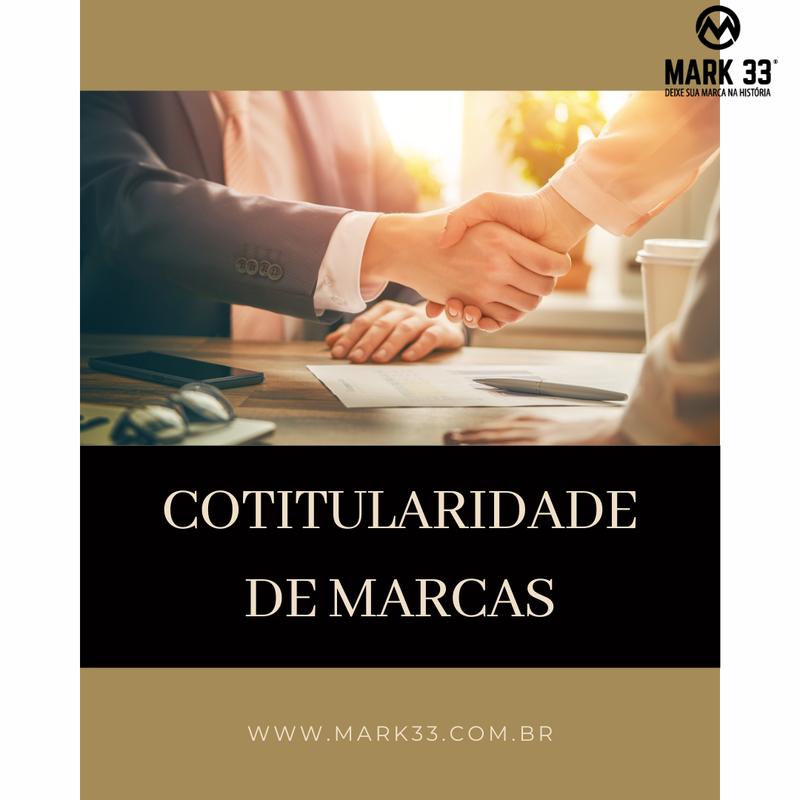 COTITULARIDADE DE MARCAS